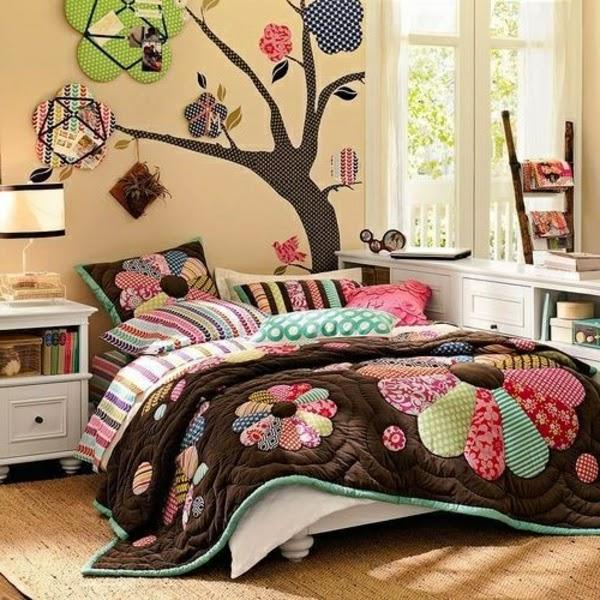 dormitorio de colores niña