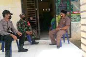 Babinsa dan Bhabinkamtibmas di Kecamatan Simpang Kanan Himbau Warga Patuhi Protokol Kesehatan