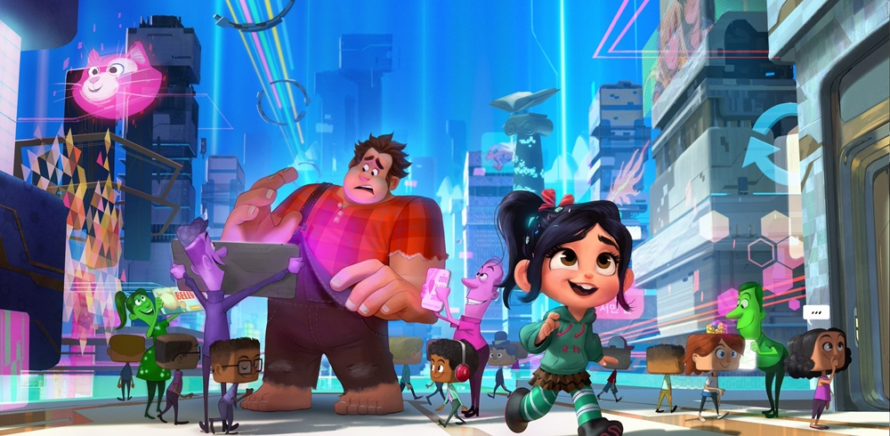 Walt Disney Animation, Walt Disney Pictures, Walt Disney Studios Motion Pictures, Ralph Breaks The Internet, Vanellope, Movie Review by Rawlins, Disney Princess, Animation, Rawlins GLAM