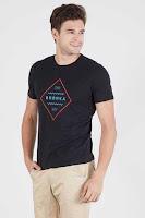BerryBenka Men Berrybenka Trademark Tshirt Black ANDHIMIND