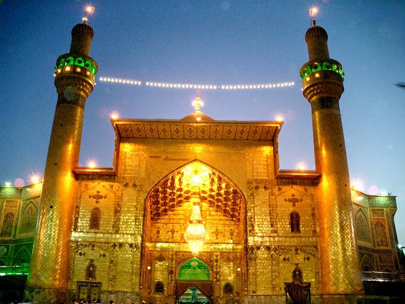 Maula Ali Shrine Wallpaper: Dar-e-Hussain A.s