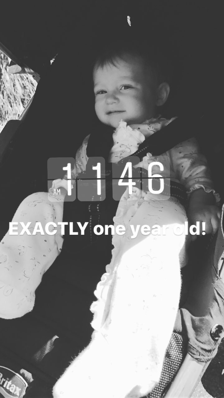 Baby E is ONE!