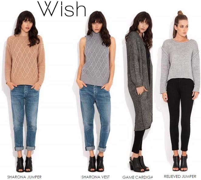 Wish clothing online shopping