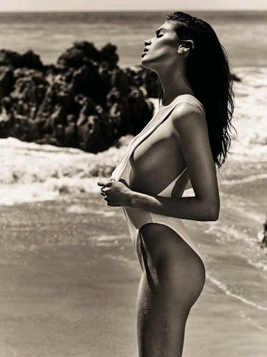 sara sampaio sexy model photo shoot for gq spain magazine