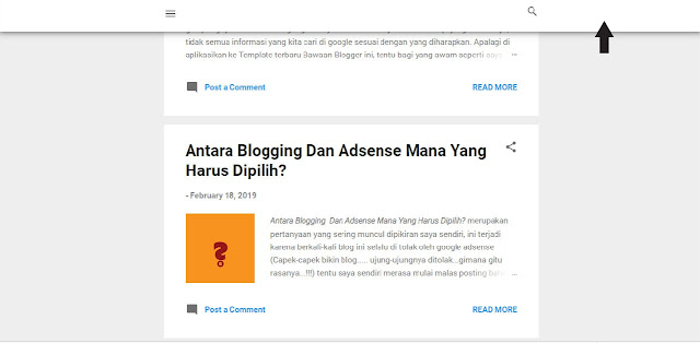Cara Merubah Tampilan Template Contempo Blogger