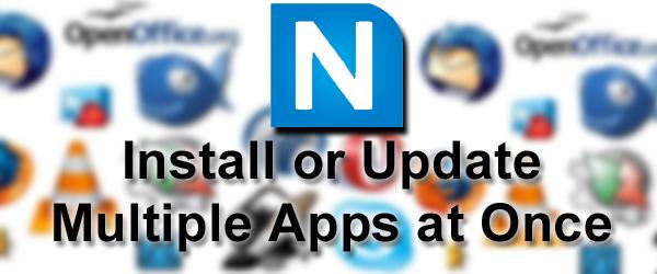 Cara Install Aplikasi Secara Masal