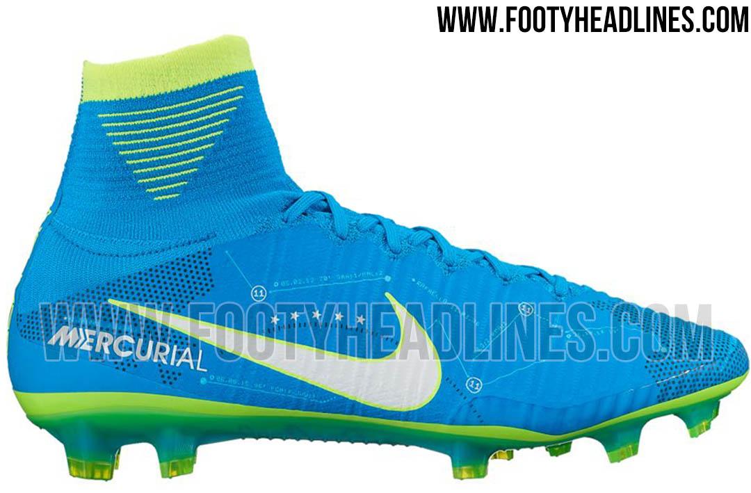 Voici les nouvelles chaussures de foot Nike Mercurial Superfly 5 Neymar 2017 .