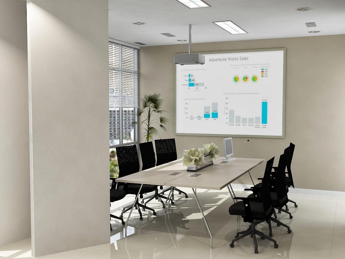 JASA DESAIN 3D MAX MURAH Desain ruang meeting minimalis