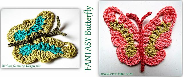 crochet patterns, how to crochet, butterfly, butterflies, fantasy,