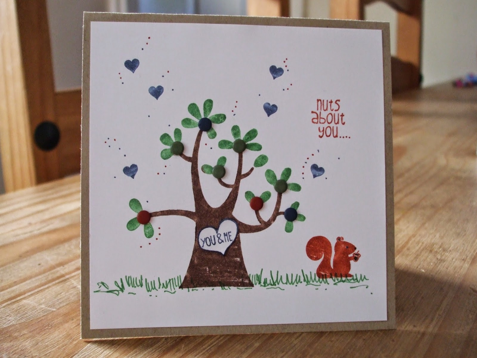 Nuts about You, Stampin' Up!
