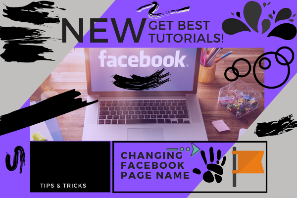 Change Facebook Business Page Name<br/>