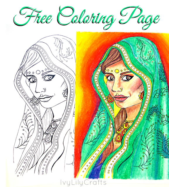 Free Printable Adult Coloring Pages. Get ready to color!  Print out these free ethnic coloring pages for kids and adults.