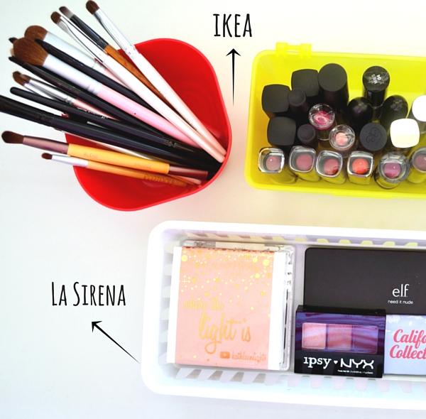 maquillaje organizacion