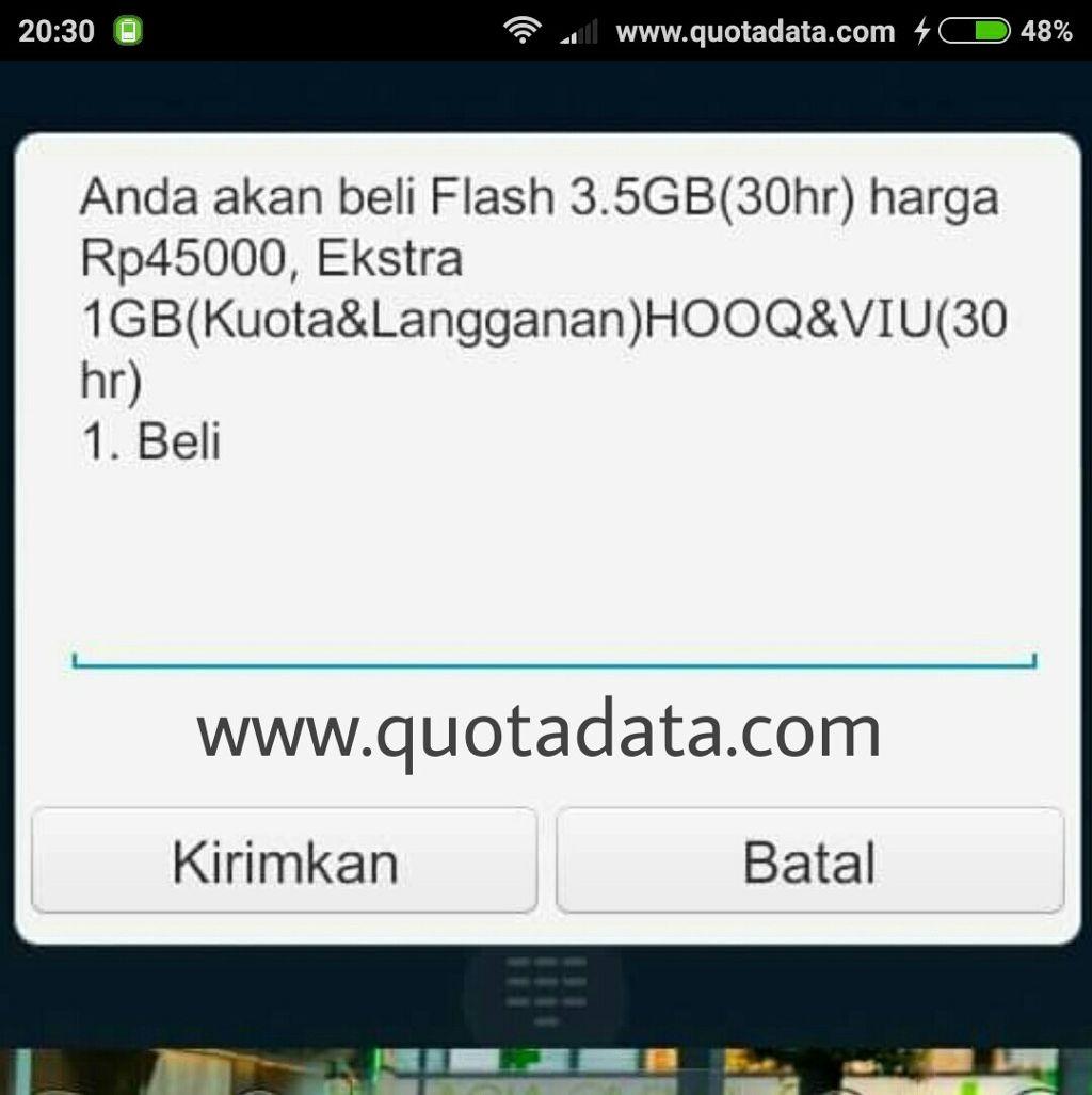 Paket Flash Murah 3 5gb 45rb Telkomsel 2019 Quota Data