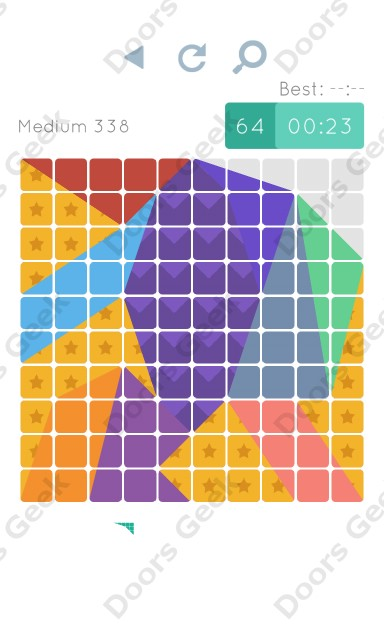Cheats, Walkthrough for Blocks and Shapes Medium Level 338