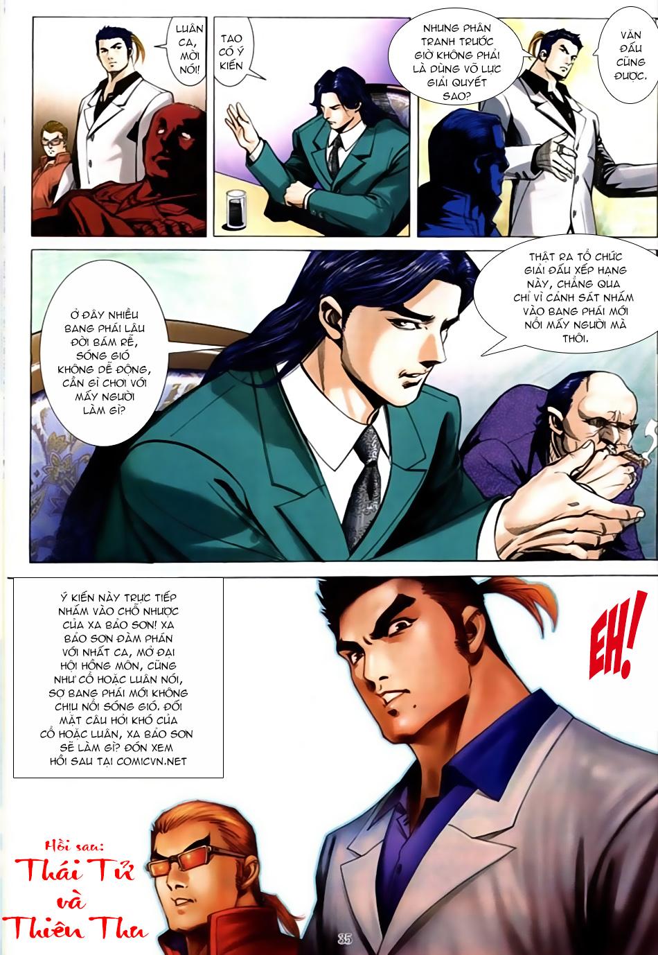 Người Trong Giang Hồ chapter 586: lưỡi chiến quần hùng trang 27