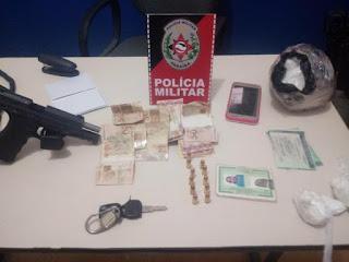 Polícia prende em Nova Floresta, três homens e uma mulher por tráfico de drogas