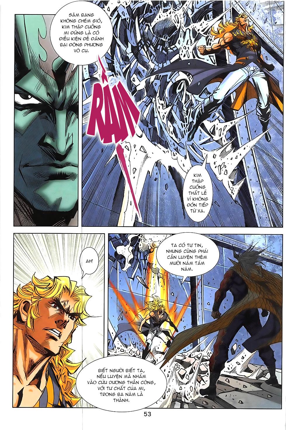 Hoàng Giả Chi Lộ chap 12.2 Trang 25 - Mangak.info