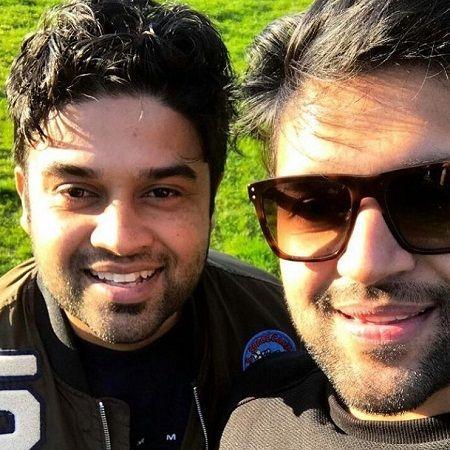 Guru Randhawa With His Brother Ramneek