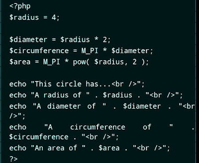 Example of Constant in PHP