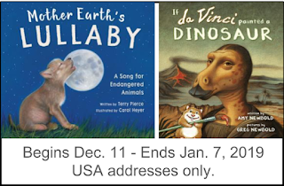 Mother Earth's Lullaby & da Vinci Had Painted Dinosaurs