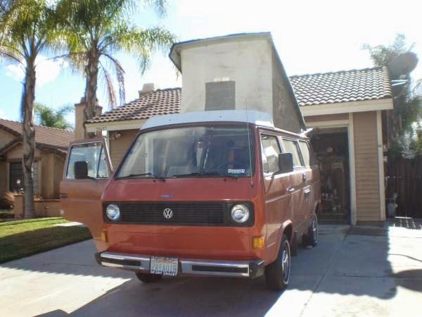 used rvs vw vanagon westfalia camper van for sale by owner. Black Bedroom Furniture Sets. Home Design Ideas