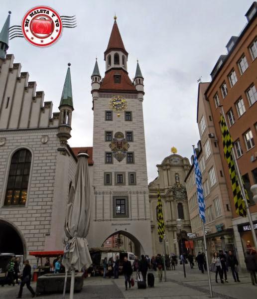 Munich - Antiguo Ayuntamiento, Marienplatz