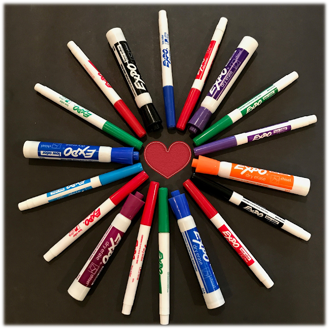 Dry erase markers in the classroom...A MUST have!