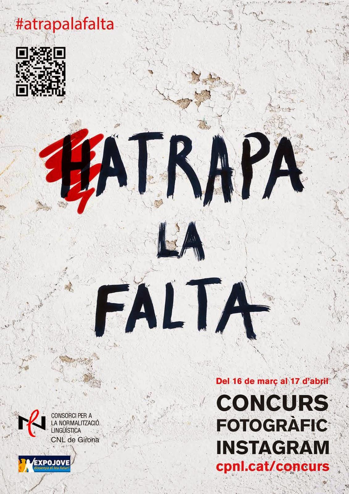 Servei de català del Gironès: Concurs 'Atrapa la falta'