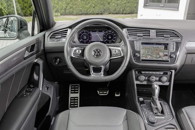 Novo VW Tiguan 2017 - interior - painel