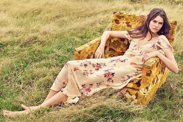 vestido estampado floral Zara primavera verano