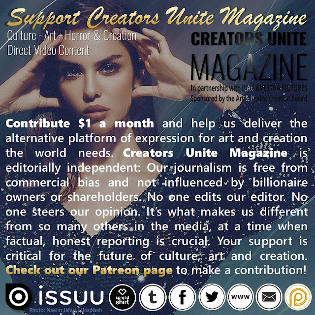 SUPPORT CREATORS UNITE MAGAZINE