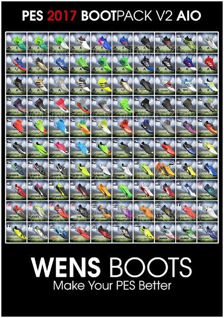 PES 2017 Bootpack HD V2 AIO dari Wens