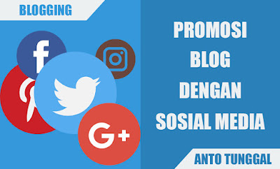 cara meningkatkan pengunjung blog dengan sosial media