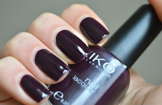 Kiko 244 nail polish swatch