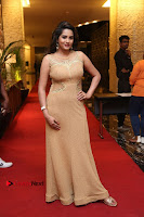 Actress Himaja Stills in Golden Spicy Long Dress at SIIMA Short Film Awards 2017 .COM 0303.JPG