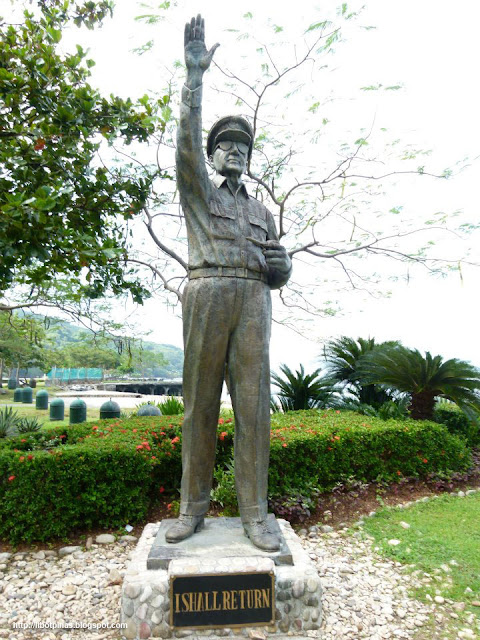 General Douglas MacArthur's Monument near the port