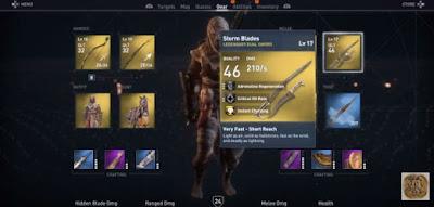AC Origins, Best Weapons, Storm Blades, Dual Sword Gear