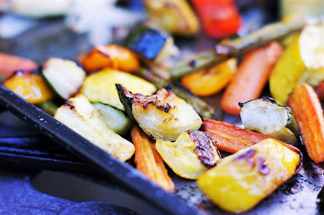 Roasted Vegetables with Zucchini Image