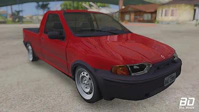 Download mod carro pickup Fiat Strada Hard Working 1996 para GTA San Andreas, GTA SA Jogo PC