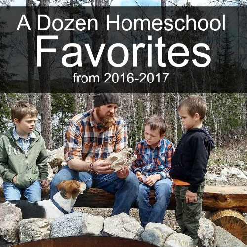 A Dozen Homeschool Favorites from 2016-2017