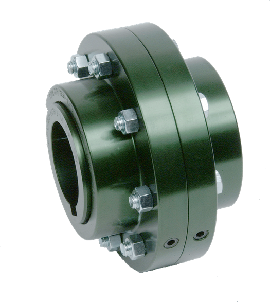 Flanged Sleeve Gear Coupling - by Lovejoy, Inc.
