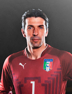 Gianluigi Buffon is goalkeeper for Italy and Juventus