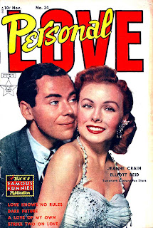 Personal Love v1 #24 Jeanne Crain romance comic book photo cover