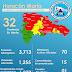 COE aumenta a 23 las provincias en alerta roja por huracán María