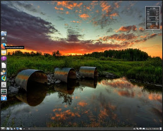 Contoh Tampilan Desktop