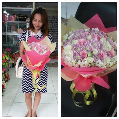 toko bunga tangan di surabaya, jual bunga mawar online surabaya, harga buket bunga mawar surabaya,