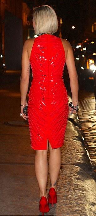 The Amber Alert: Style Alert: Rita Ora in Fall 2013 Versace