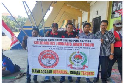 Solidaritas Jurnalis Jawa Timur Tuntut Dinas Pendidikan Beri Sanksi Peleceh Wartawan