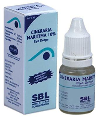 SBL Cineraria Maritima Euphrasia Eye Drops in chennai